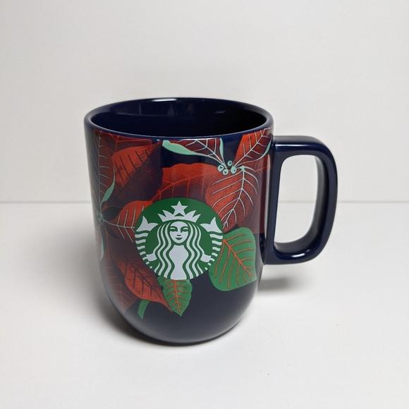 Starbucks 2020 Christmas poinsettia mug